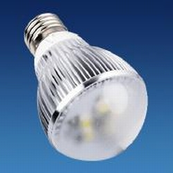 E27 5 Watt Ledlamp warm-wit 220 Volt