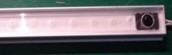 SMD Ledstrip Warm wit in aluminium profiel 50 cm lang
