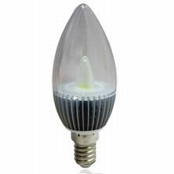 E14 Ledlamp met 2 watt warm witte Led's 220~240 Volt