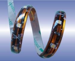 WaterprooFlexibele smd Ledstrips Warm-wit  kleurtemp ± 3500K  per meter