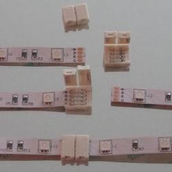 Koppelstukje 3 stuks om ledstrip SMD3528 te koppelen  per stuk