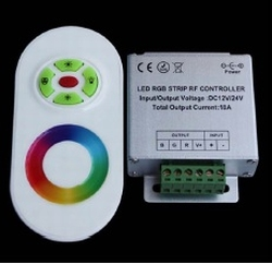 Touch rgb controller ovaal wit  per stuk