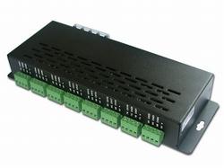 DMX Led driver  12 /24 Volt  24 kanalen uitgang  per stuk