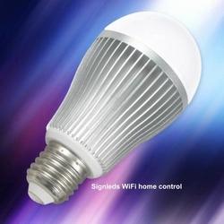 Wifi Ledlamp dimbaar 1-100% warm wit 3250K 6 watt  per stuk