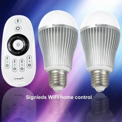 Wifi Ledlamp dimbaar 1-100% warm wit 3250K Set van 2  per stuk