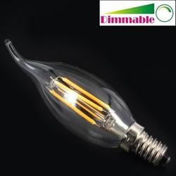 4 watt Filamet kaarslamp dimbaar