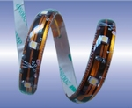 Waterproof flexibele smd Ledstrips Warm-wit ± 3500K per meter