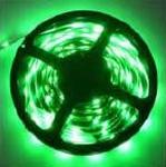 Ledstrip  Groen  smd3528 met 60 leds  1 meter per meter