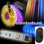 5 Mtr RGB30 ledstrip met trafo en touch controller ST20W24  complete set