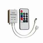 IR RGBcontroller met afstandsbediening per stuk