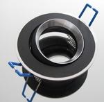 Inbouw armatuur voor GU5.3 lampen draaibaar per stuk