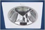 Vierkant Inbouw armatuur met refector voor spot lampen per stuk