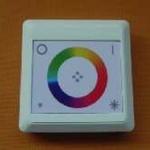 Touch RGBcontroller vierkant opbouw per stuk