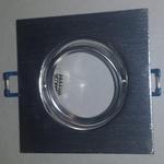 Vierkant Inbouw armatuur draaibaar voor MR16 of GU10 spots per stuk