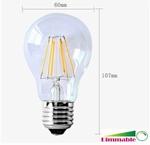 Filament Led lamp 6watt 230volt dimbaar
