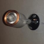 Leddownlight 12volt watt warm wit 3200K opbouw per stuk