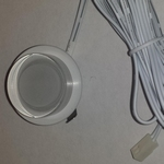 Leddownlight 12volt watt warm wit 3200K inbouw per stuk